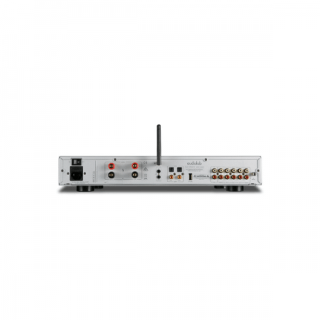 AUDIOLAB 600A STEREO AMPLIFIER - silver (1)
